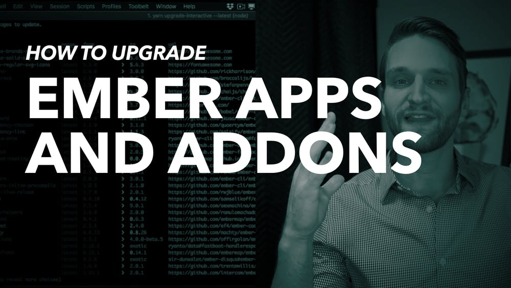 How to upgrade an Ember App or Addon | EmberMap
